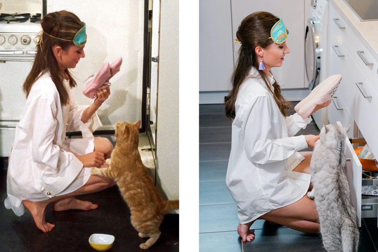 Holly Golightly Halloween Costume from Breakfast at Tiffany's